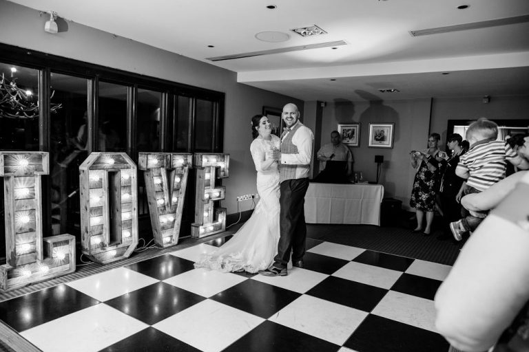 First Dance at Oulton Hall near Wakefield