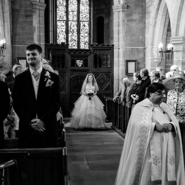 Bride at Wakefield wedding