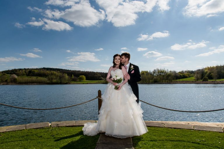 Wedding photograph at Waterton Park Hotel