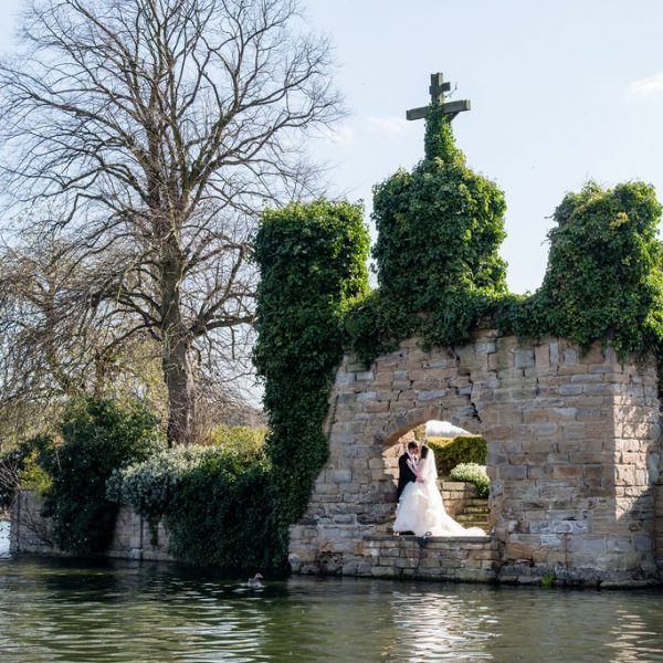 Wedding photograph at Waterton Park Hotel
