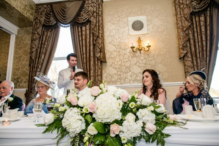 Speeches at Waterton Park Hotel