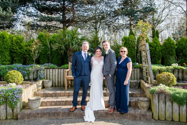 Wedding photograph at Thorpe Park Leeds