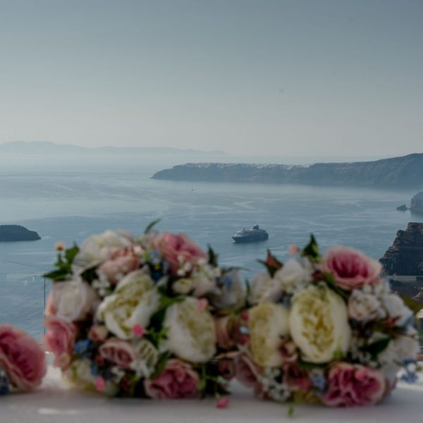 Caldera wedding Santorini