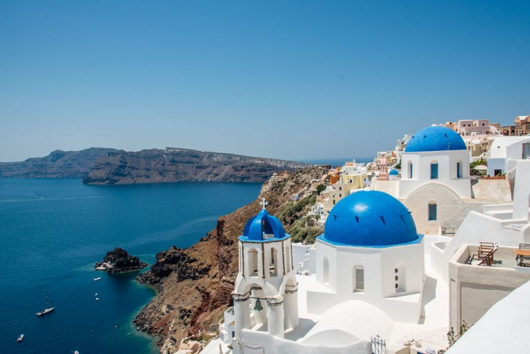 Blue Domed chapels of Oia