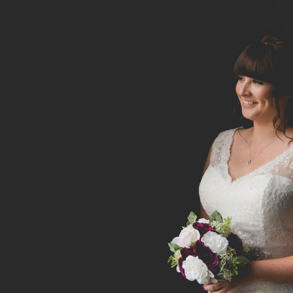 Stunning bride at Waterton Park Wakefield