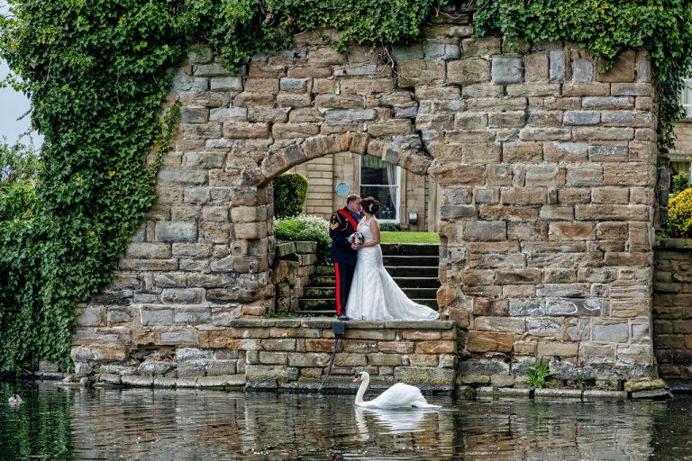 Wakefield wedding photographer at Waterton Park Wakefield