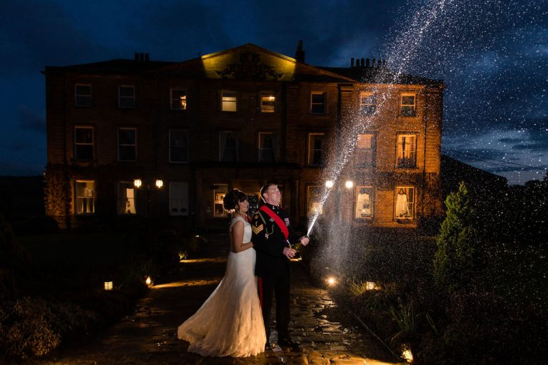 Wakefield wedding photographer at Waterton Park Wakefield