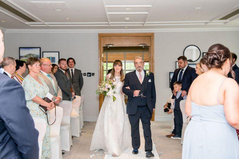 Bridal Entrance at Thorpe Park Hotel