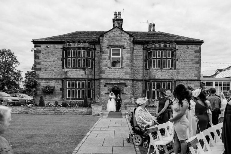Bridal entrance at Rogerthorpe Manor
