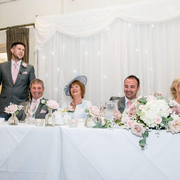 Speeches Healds Hall Wedding Venue