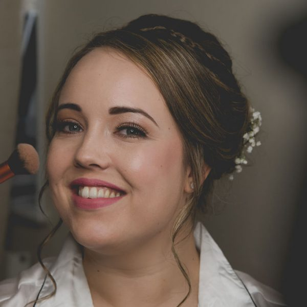 Bride at Mirfield Monastery wedding