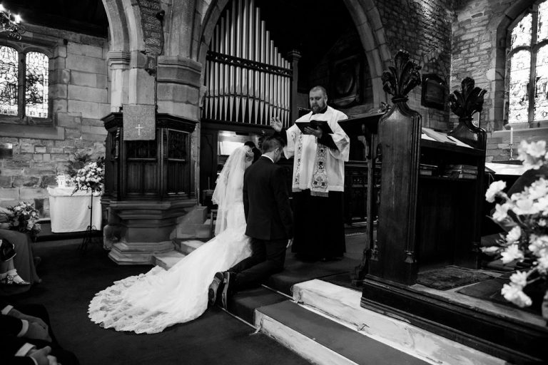 Wakefield church wedding
