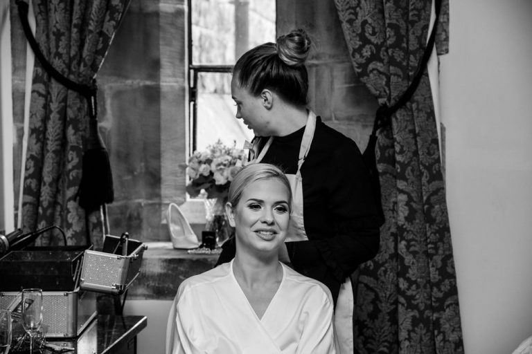 Bride at Peckforton Castle
