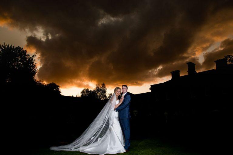 Wedding Sunset at Oulton Hall