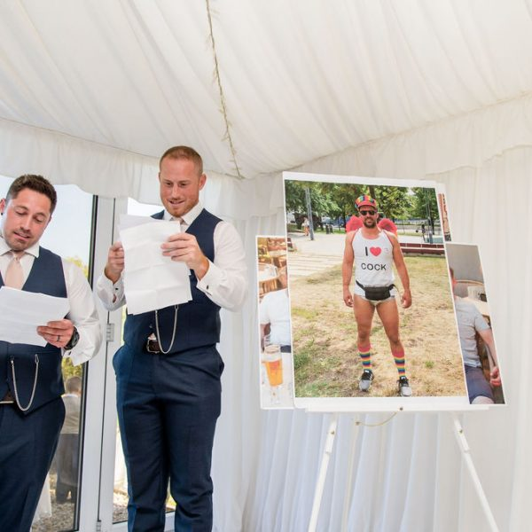 Speeches at Priory Cottages