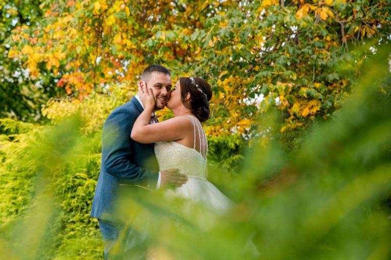 Waterton Park Hotel Bride and Groom