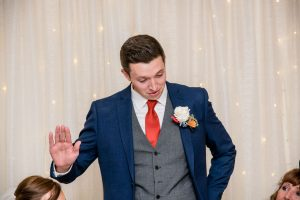 Speeches at Dimple Well Lodge