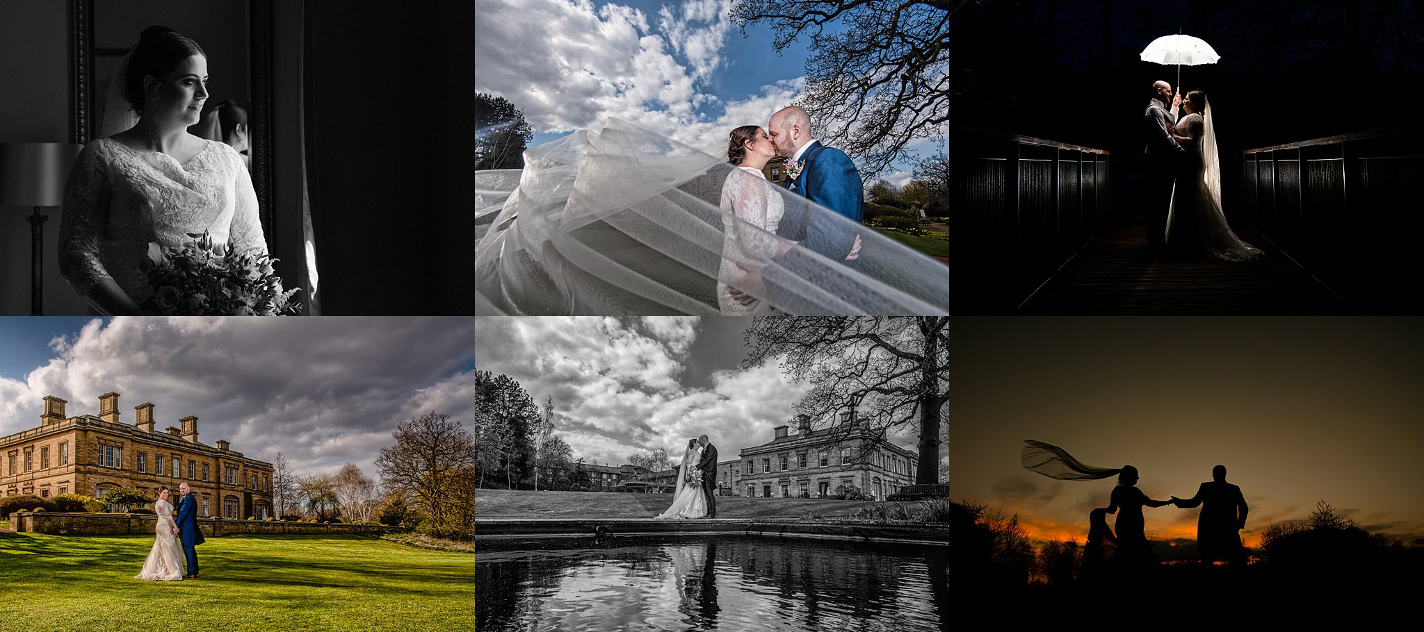 Selection of weddings from Oulton Hall