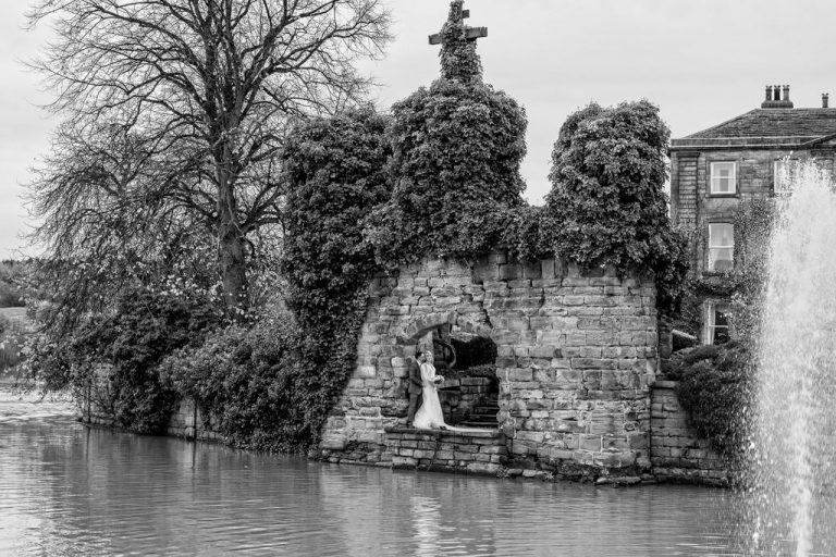 Waterton Park wedding photograph