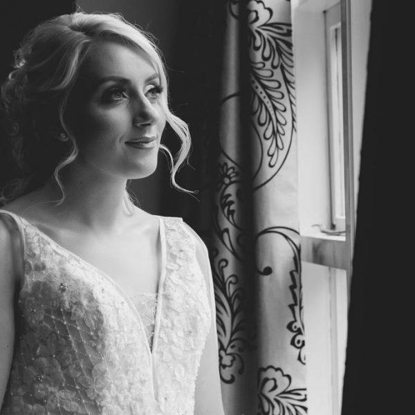 Bride getting ready at Waterton Park Hotel Wakefield