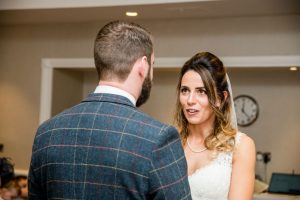 Wedding couple at Crowne Plaza Leeds