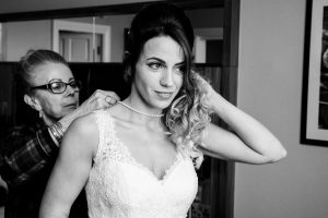Bride at Crowne Plaza Leeds