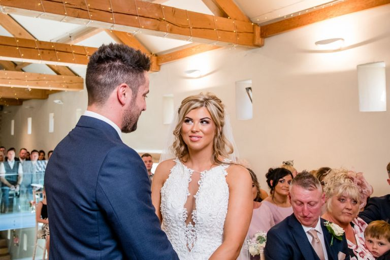 Ceremony at Priory Cottages Wetherby