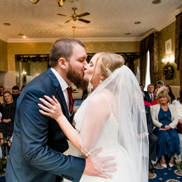 First Kiss at Waterton Park Wakefield