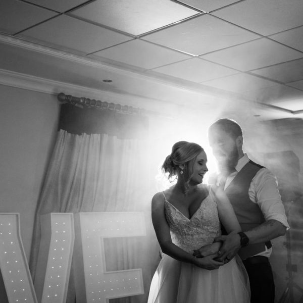 First dance Wedding photography at Waterton Park Wakefield