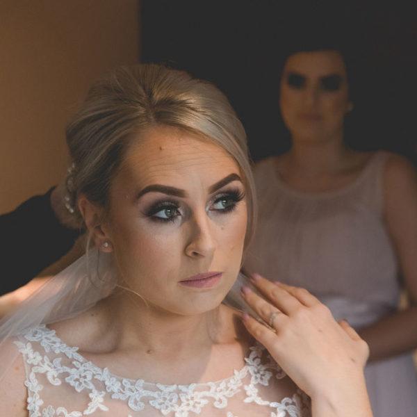 Bride at Waterton Park Hotel Wakefield