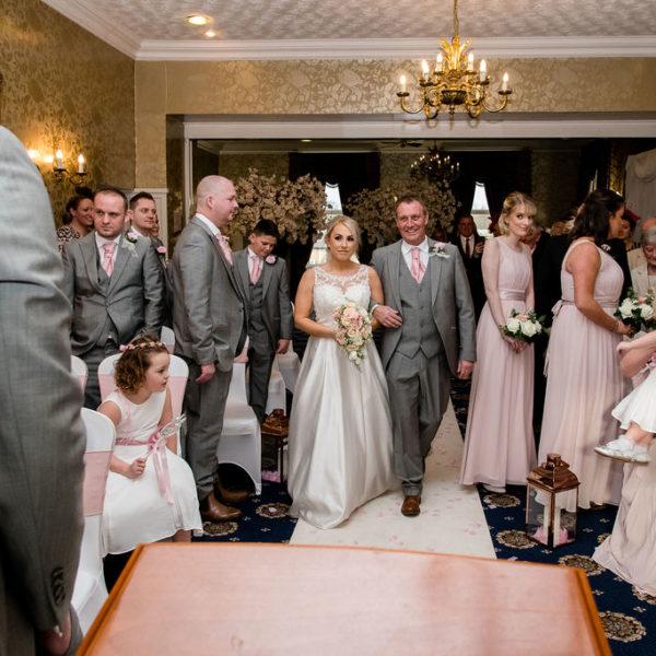 Brideat Waterton Park Hotel Wakefield