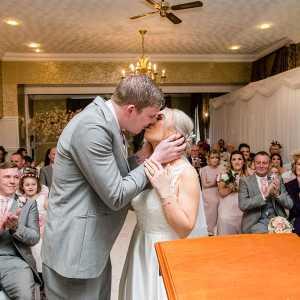 First Kiss at Waterton Park Hotel Wakefield