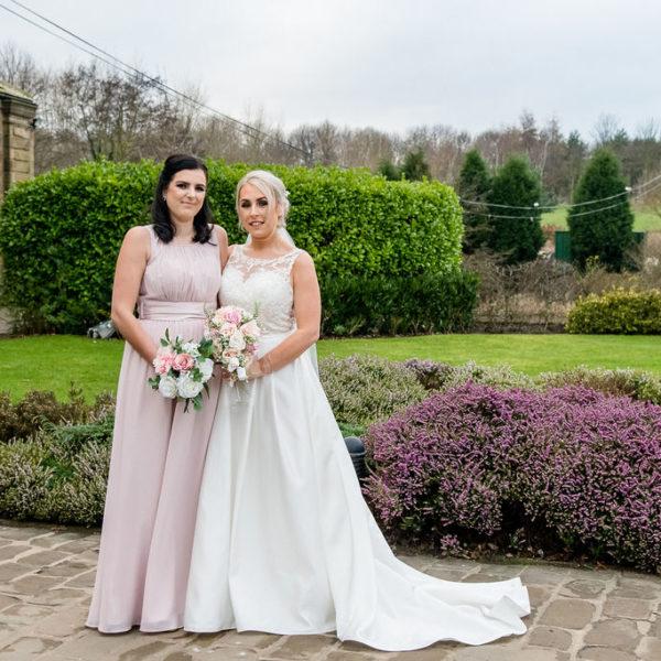 Bridal Party at Waterton Park Hotel Wakefield