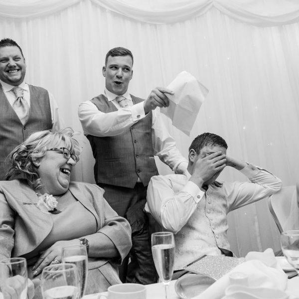 Wedding Speeches at Waterton Park Hotel Wakefield