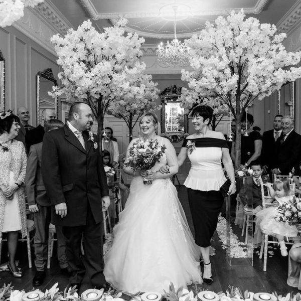Bride entrance at Bawtry Hall