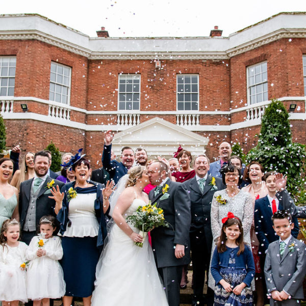 Wedding party at Bawtry Hall