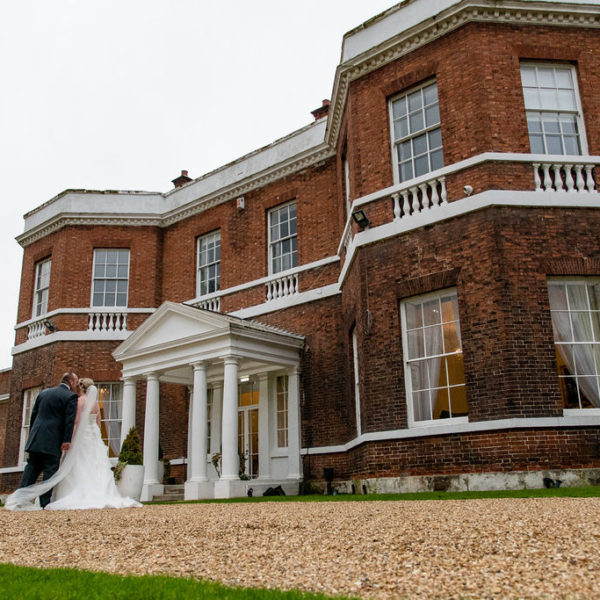 Bride and Groom at Bawtry Hall