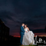Sunset at Waterton Park Wedding