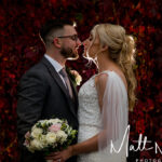 Autumn wedding photograph