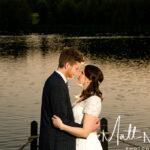 Wedding photographer at Waterton Park Hotel