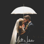 After dark romantic wedding photograph at Priory Cottages Wedding near Wetherby