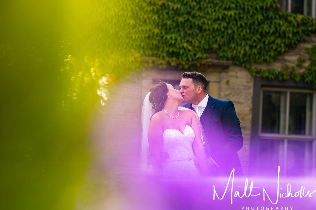 Wedding photo at Fleece Inn Ripponden Wedding